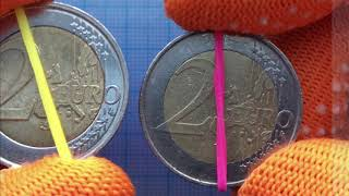 2 Euro Belgium 2 ★ ★ 2 Ruler  Albert II ★ 2 ★ Defects R 2000