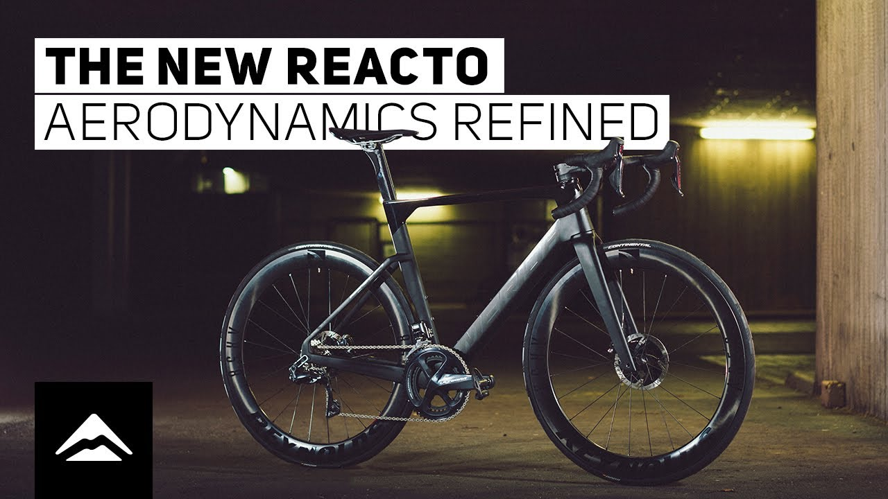 The new REACTO - aerodynamics refined | find out the details of our new aero bike