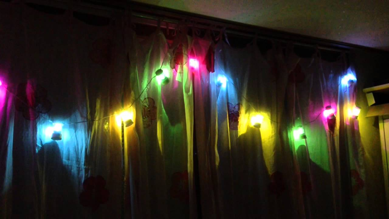 Coleman Led String Lights : coleman led string feslight - YouTube