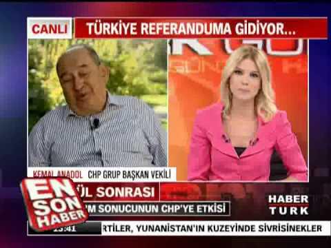 Kemal Anadol  Türban sorununu Gerçekten çözmek istiyoruz