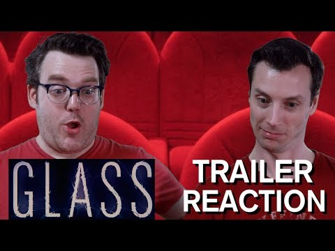 Glass - Official Trailer Reaction