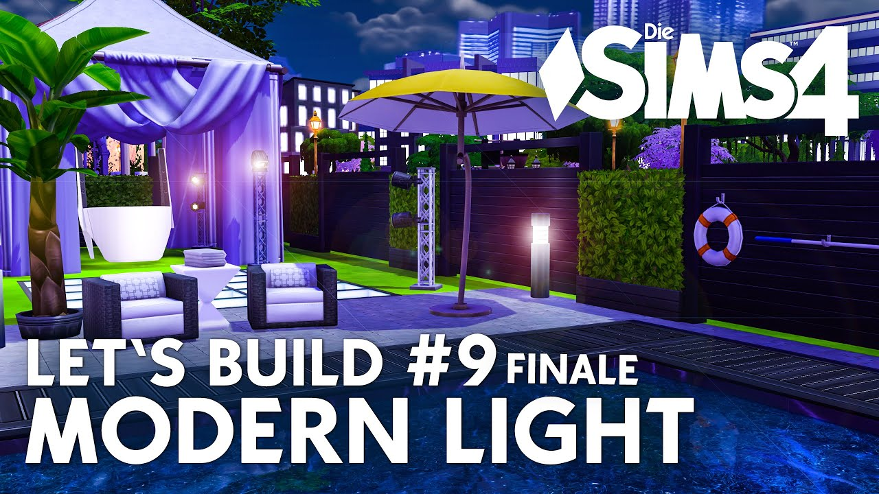 Die Sims 4 Letu0027s Build Modern Light #9 | Bauen Mit Pool U0026 Garten (deutsch)    YouTube