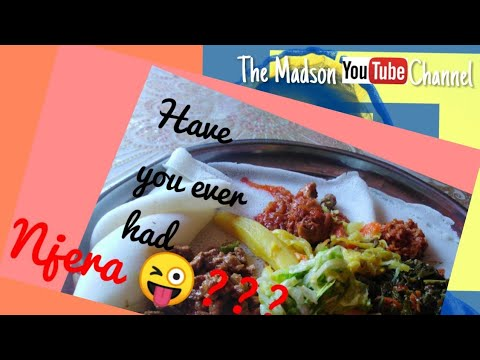 South African youtuber tries Ethiopian food |vlog