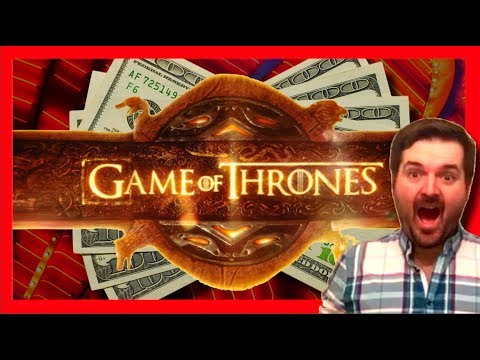 BIG WINS!!! Lots of Bonuses and LIVE PLAY on Game of Thrones Slot Machine - 동영상