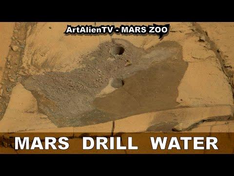 MARS DRILL WATER: Curiosity Rover Hits Water: NASA Stays Silent. ArtAlienTV - 1080p