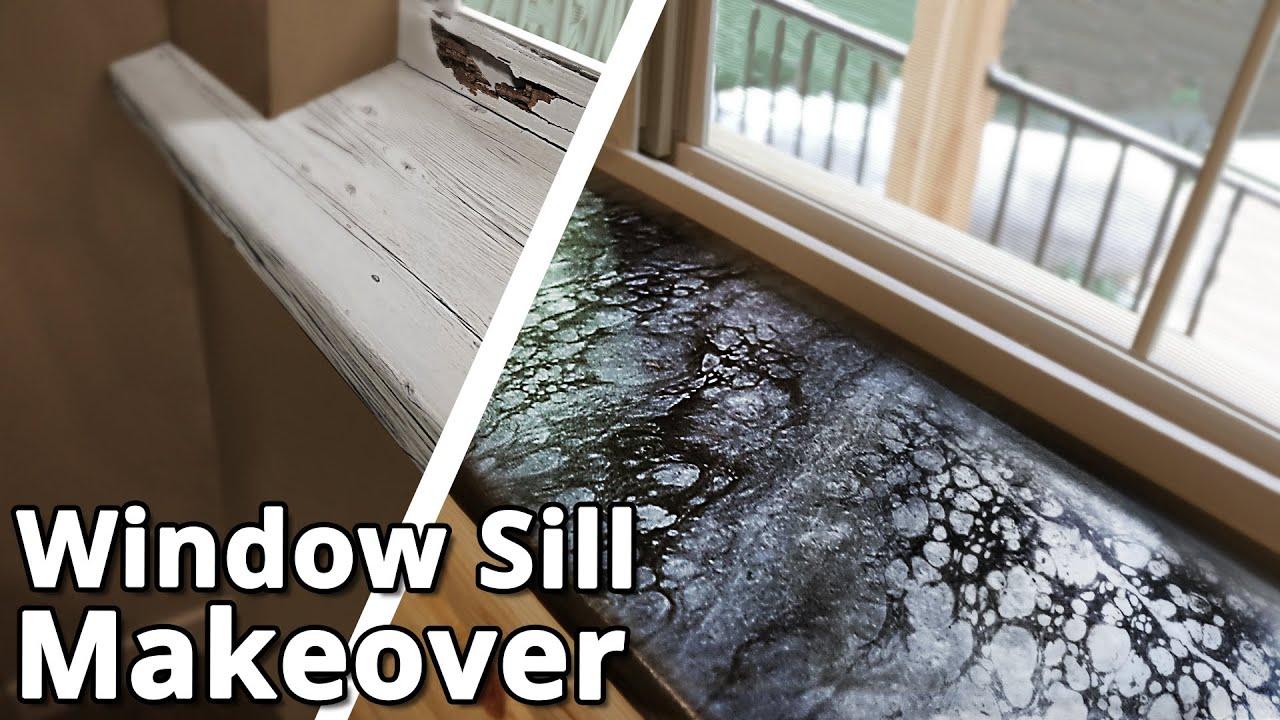 Quick & Easy Waterproof Windowsills   Stone Coat Epoxy