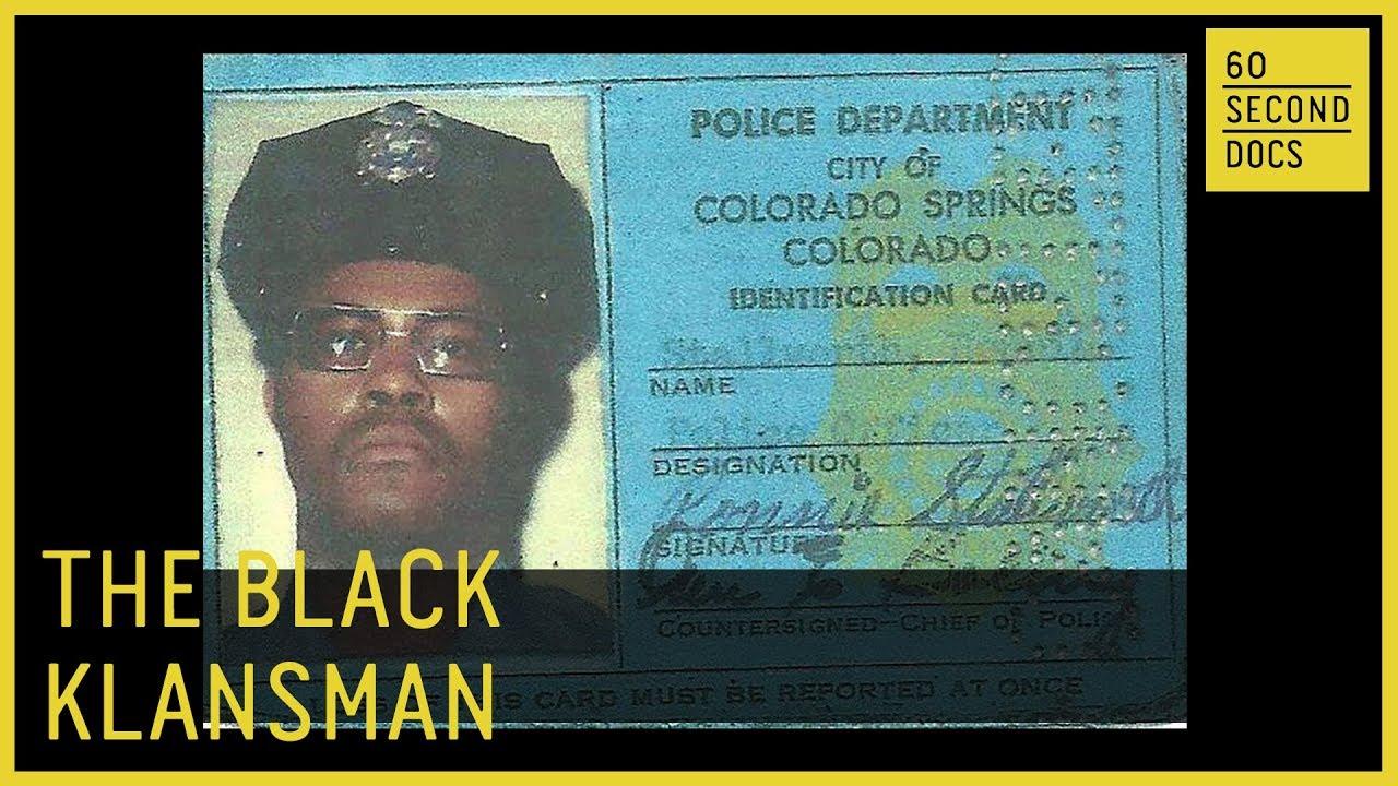Klansman The Ron Blackkklansman Gentnews Black Stallworth