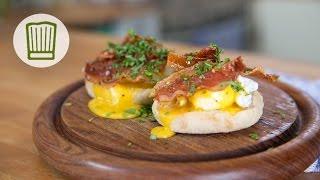 Eggs Benedict - Eier Benedict bei Fabios Kochschule #chefkoch