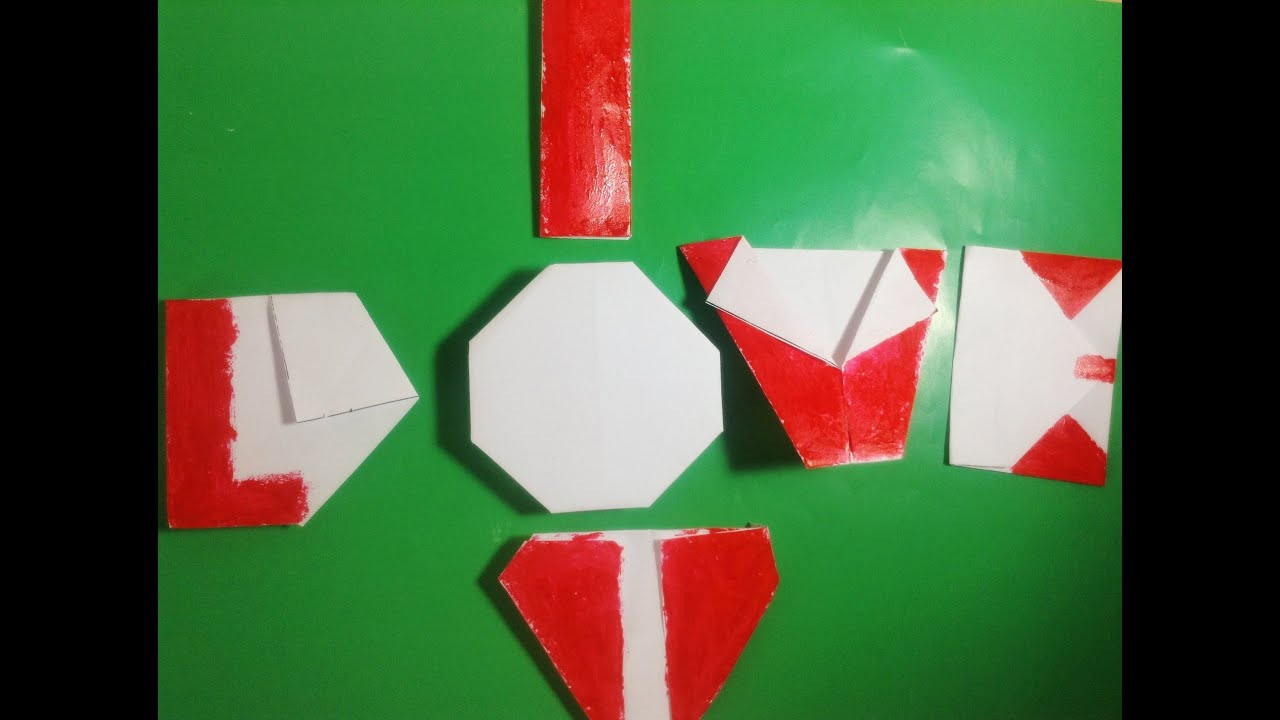 origami $1 i love u