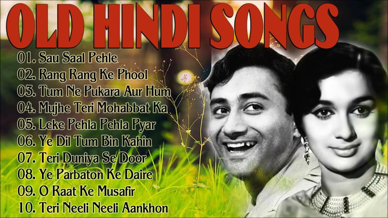 Old Hindi Songs सद बह र प र न ग न Hindi Purane Gane Lata Mangeshkar Old Song Youtube
