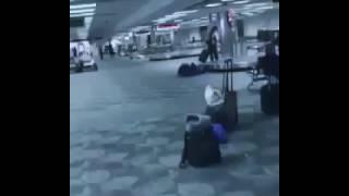 Tiroteo en el aeropuerto de Florida / @AndrewsAbreu