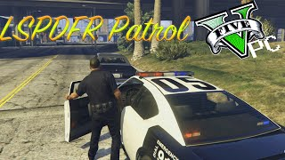 LSPDFR-Style Patrol #1 -- GTA V PC Director Mode