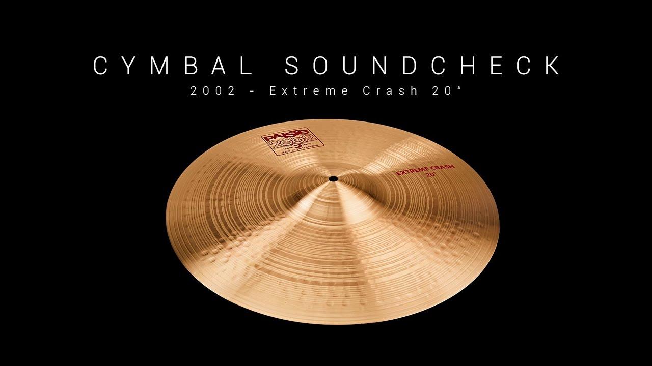 Crash Cymbals Translation : cymbal soundcheck extreme crash 20 youtube ~ Vivirlamusica.com Haus und Dekorationen