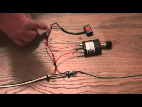 how to wire a blue water led switch and dimmer youtube rh youtube com 120V LED Wiring Diagram 12V LED Wiring Diagram