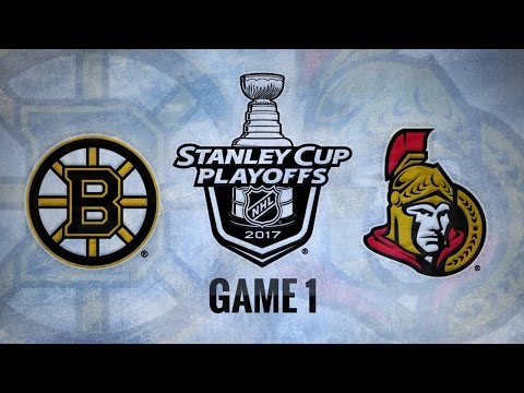 Marchand's late goal helps Bruins take Game 1, 2-1