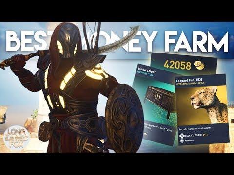 Assassin's Creed Origins   UNLIMITED MONEY & HEKA CHESTS FARM! - Best Money Farm In AC Origins