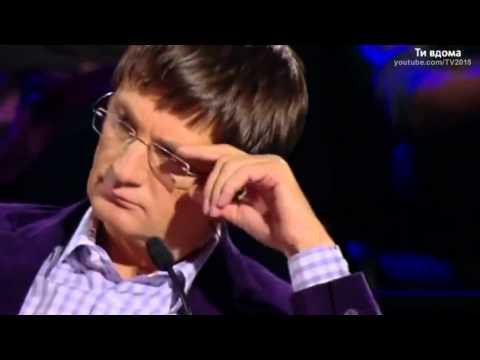 Видео, Антон Агафонов Украина мае талант 4