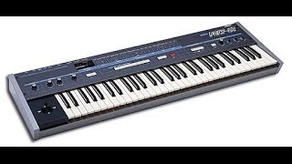 Korg Poly-61 Repair Broken Synthesizer Fix - Master Clock Plays Sound Without Pressing a Key