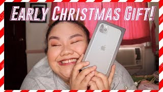 Vlogmas Day 1: Iphone 11 Pro Max Unboxing!!! AHHH!! | Kit Ramos