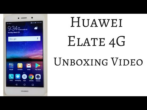 Huawei Elate Unboxing Video