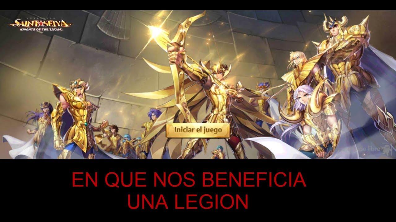 Saint Seiya Awakening Español : Es Necesario Tener Una Legion Y porque?