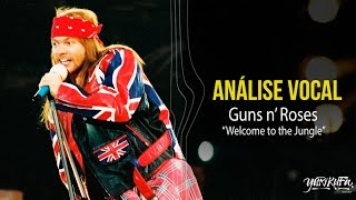 Análise Vocal - Welcome To The Jungle (Guns n Roses)
