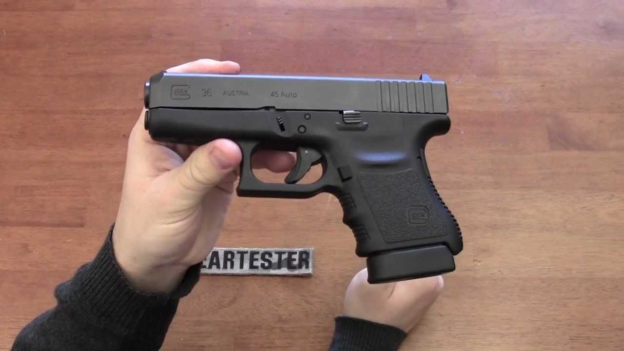 """Glock 36 Update: FTE"" by TheGearTester - YouTube"