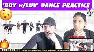 NSD REACT TO BTS Boy w/ Luv Dance Practice + Things You Didnt Notice in Boy w/ Luv Dance Practice