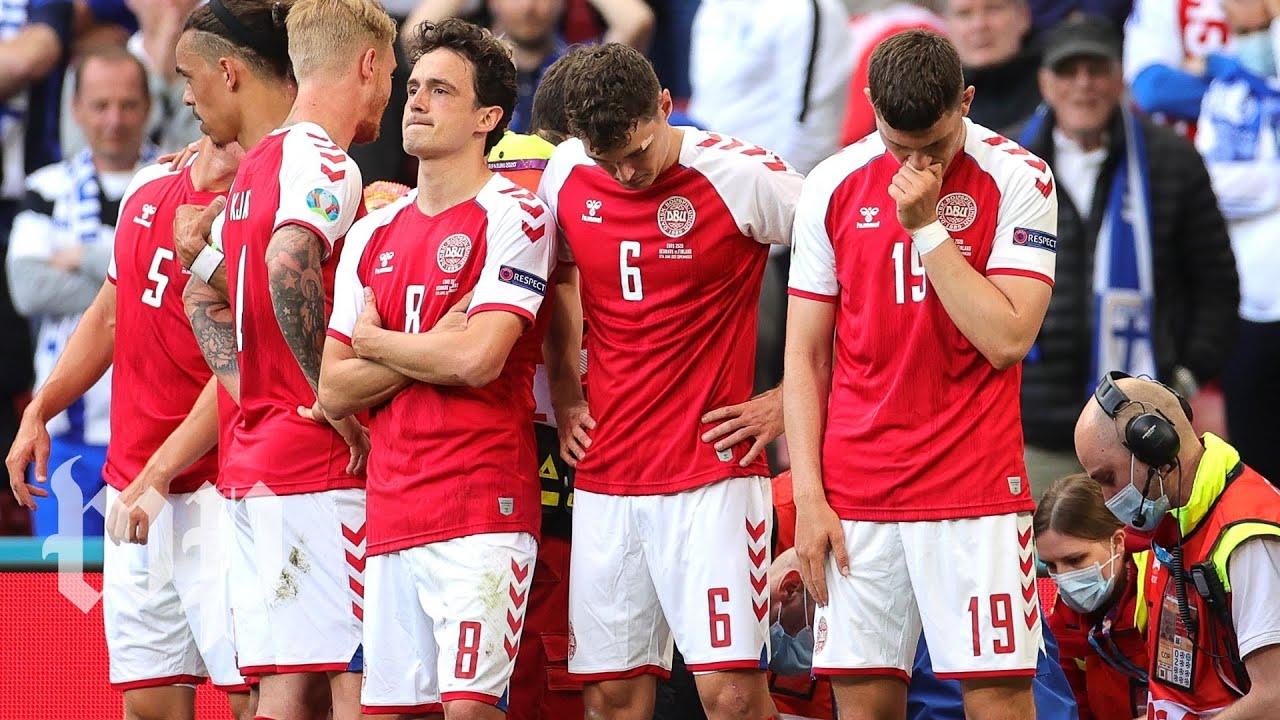 Denmark Soccer Star Christian Eriksen Was Gone After Collapsing ...