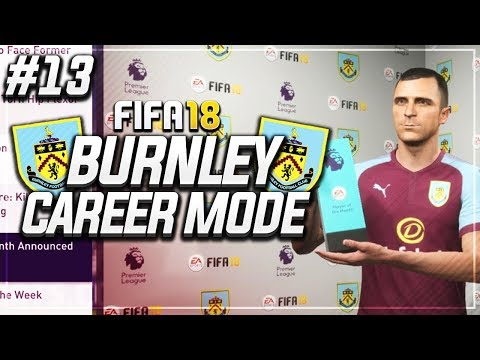 DEAN MARNEY WINS POTM!! #13 - FIFA 18 BURNLEY CAREER MODE
