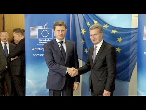 Ukraine, Russia mull EU gas deal