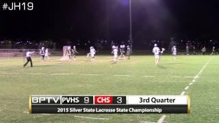 2015 Silver State Lacrosse State Championship - Palo Verde vs. Coronado Red
