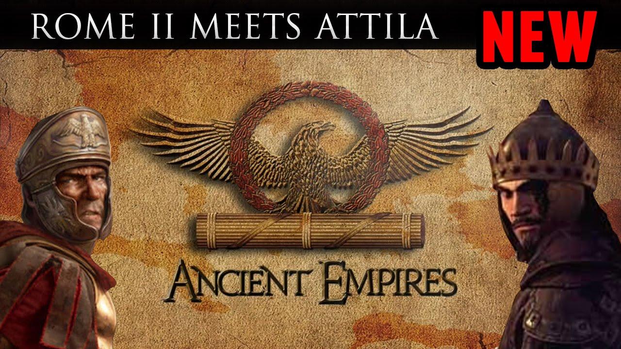 Ancient Empires Overhaul Mod (Rome II comes to Attila!!!)
