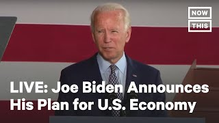 Joe Biden Delivers Remarks on U.S. Economy | LIVE | NowThis