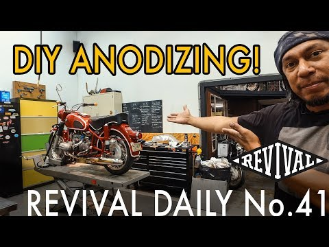 DIY Anodizing // Revival Daily 41