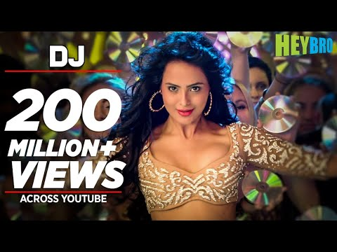 Thumbnail: 'DJ' Video Song | Hey Bro | Sunidhi Chauhan, Feat. Ali Zafar | Ganesh Acharya | T-Series