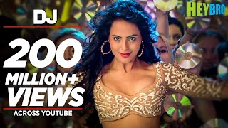 dj video song hey bro sunidhi chauhan feat ali zafar ganesh acharya t series