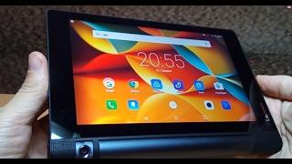 Lenovo Yoga Tab 3-850M. 4G Планшет с громкими динамиками, 4 ядра, Ram 1 Гб, Rom 16 Гб, Android 5.1(, 2017-02-06T18:45:25.000Z)