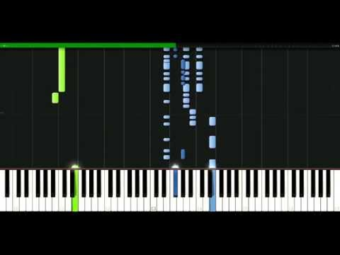 Beyonce - Single ladies (Put a ring on it) [Piano Tutorial] Synthesia | passkeypiano