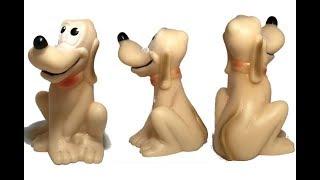 Собака Гуфи - фигурка из резины