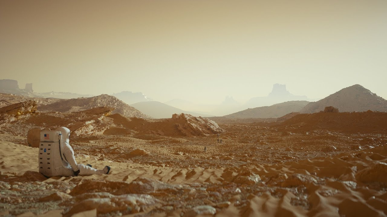 Cinema 4D Tutorial - Create a Detailed Mars Landscape ...
