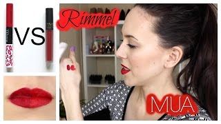 Rimmel Provocalips VS MUA Velvet Lip Lacquer: Review/First Impression