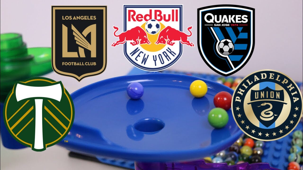 Marble Race: Top 5 Teams Major League Soccer 2019 | According to Marbles