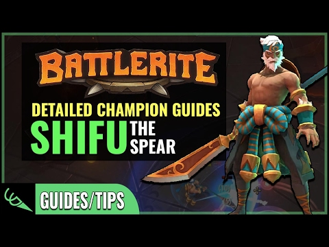 Shifu Guide - Detailed Champion Guides | Battlerite (Early Access)