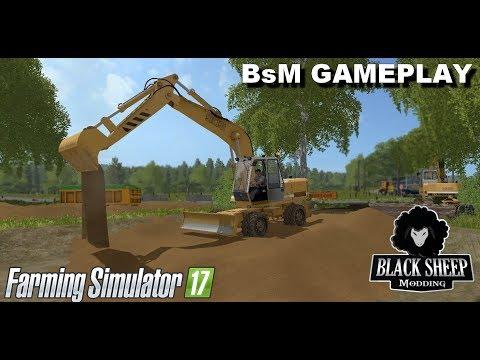 FS17| GAMEPLAY BSM| Go Construction site :D