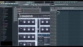 How to automate Massive in FL studio [Quick Trick 1]
