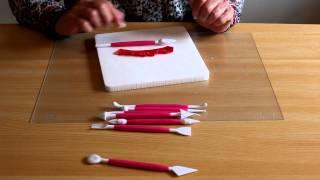 Les différents outils pour pâte à sucre - La Table de Brigitte