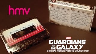 Guardians of the Galaxy: Awesome Mix Vol.1 Soundtrack Cassette Tape HMV RARE