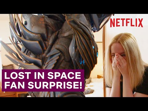 A Lost In Space Superfan Gets The Surprise Of Her Life | Netflix