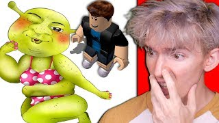 Roblox artist drew WEIRD THINGS... *banned*